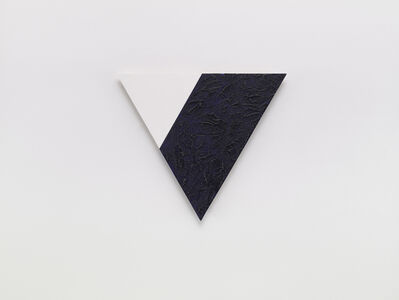 Dove Bradshaw, 'Angles (White and Blue)', 2001