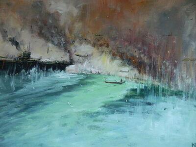 """Konstantin Batynkov, '""""In the harbor"""" 5', 2013"""