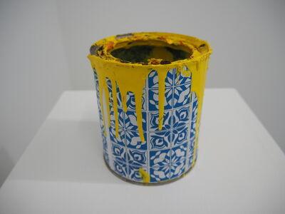 Hitotzuki, 'Mural Decode - Paint Can Yellow 2008', 2016