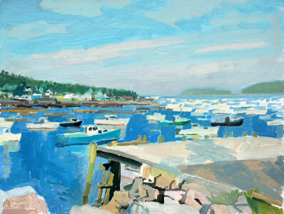 Richard Kirk Mills, 'Stonington Harbor', 2018