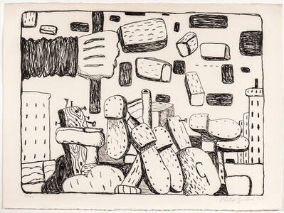 Philip Guston, 'The Street', 1970