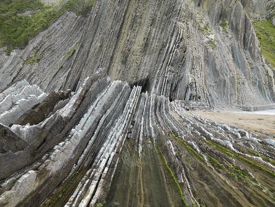 Edward Burtynsky, 'Basque Coast #1, UNESCO, Geopark, Zumaia, Spain', 2015