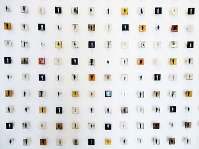 Ruby Rumie, 'Fragment of Census of Getsemani (100 Components)', 2012