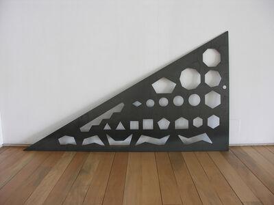 Rita McBride, 'Triangle shapes', 2008