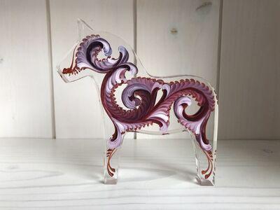 Tara Austin, 'Dala Horse (Auburgine)', 2019