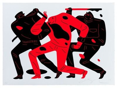 Cleon Peterson, 'The disappearance ', 2019