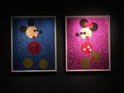 Damien Hirst, 'Glitter Mickey and Minnie (small)', 2016
