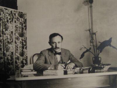 André Kertész, 'Manuel Komroff', ca. 1930