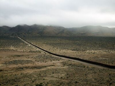 Richard Misrach, 'Wall, Jacumba, California/El muro, Jacumba, California', 2009