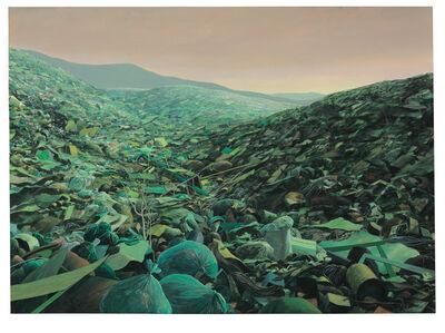 Tomás Sánchez, 'Basurero Verde para Falsos Ecologistas', 1996