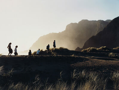 Justine Kurland, 'Parade across the Dune, New Zealand', 2001