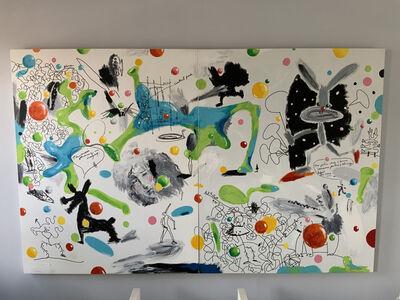 Aki Kuroda, 'New York Playground', 2012
