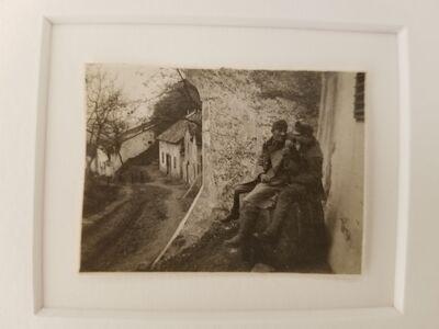 André Kertész, 'Exhstrom Hungary', 1918