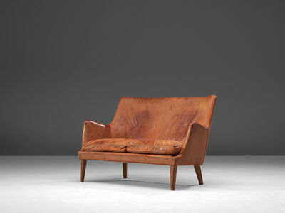 Arne Vodder, 'Sofa in Patinated Cognac Leather', Design 1953, manufactured late 1950s, 1960s