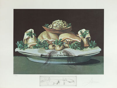 Salvador Dalí, 'Supremes of Lilliputian Malaises (Supremes of Lilliputian Malaises)', 1971