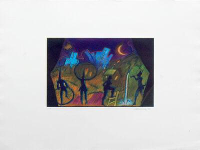 Carlos Almaraz, 'Moonlight Theatre ', 1989
