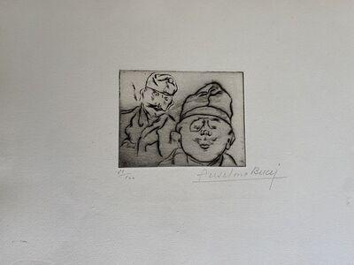 Anselmo Bucci, 'Military', 1917s