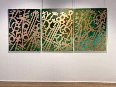RETNA, 'Untitled Gold - Triptych', 2020