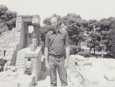Carlos Ginzburg, 'Ginzburg à Crète, Europe', 1977