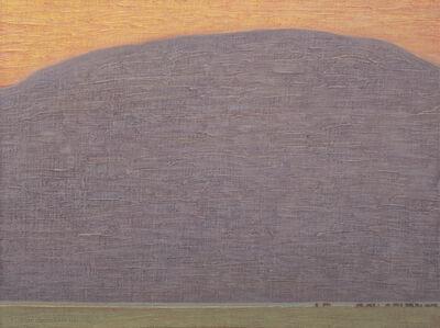 David Grossmann, 'Valley Pasture with Orange Sky', 2020