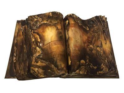 Jean Boghossian, 'Burned Lebanon Press Sculpture Book ', 2015