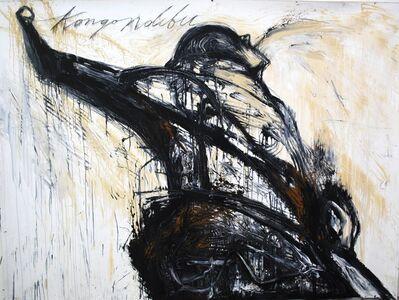 "José Bedia, '""Kongo Ndibu""', 2015"
