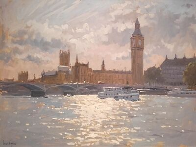 Ian Cryer, 'Clouds Over Big Ben,', 2017
