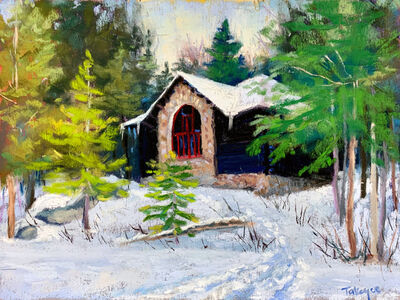 Takeyce Walter, 'Day 1: Artist's Cottage at Santanoni', February 2020