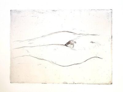 "Jean Gabriel Domergue, 'Original Etching ""Woman 's Love"" by Jean-Gabriel Domergue', 1924"