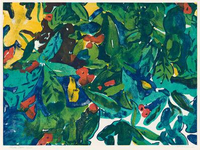 Romare Bearden, 'Tropical Flowers'