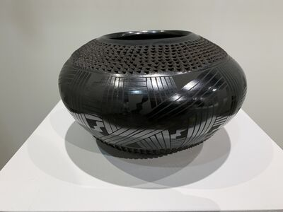 object artist, 'black pottery, Mata Ortiz', 2019