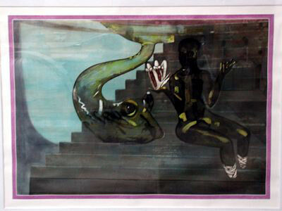 Francesco Clemente, 'friendship', 1989