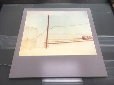 Stefanie Schneider, 'Approaching Train (Wastelands) - Lightbox', 2003
