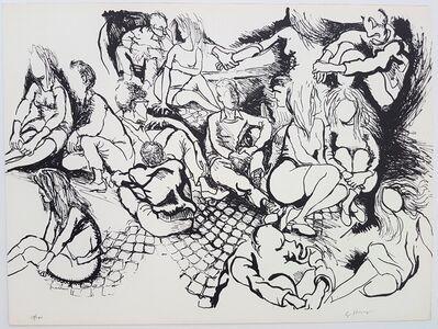 Renato Guttuso, 'Sit-in', 1968