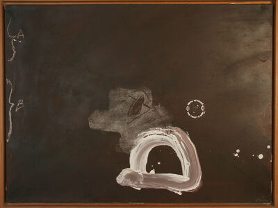 Antoni Tàpies, 'Marrón A B', 1978