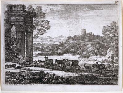 Claude Lorrain, 'Le Troupeau en Marche', 17th Century
