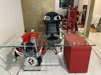 Tom Bates, 'Ferrari 430 Single Engine Desk', 2021