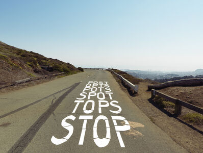 Lee Materazzi, 'STOP', 2017