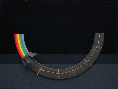 Patrick Hughes, 'Dark Rainbow Present', 1978