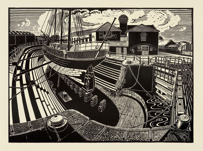 James Dodds, 'T Nielsen Shipyard, Gloucester Docks'
