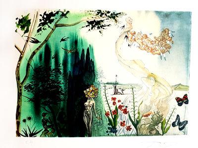 """Salvador Dalí, 'Original Hangsigned Lithograph """"Spring"""" by Salvador Dali', 1972"""
