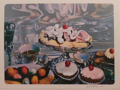 Audrey Flack, 'Banana Split Sundae', 1974