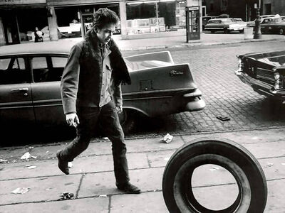 Jim Marshall, 'Bob Dylan, New York City', 1963