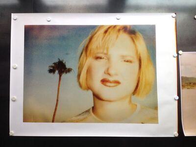 Stefanie Schneider, 'Kirsten Red Lips (California Bluescreen)', 1997