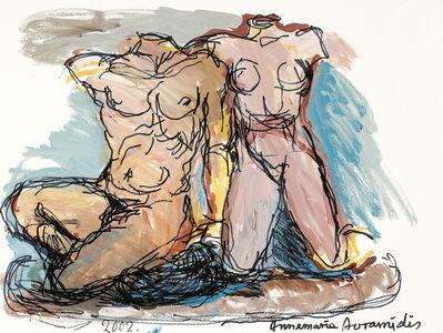 Annemarie Avramidis, 'Kekrops and his daughter', 2002