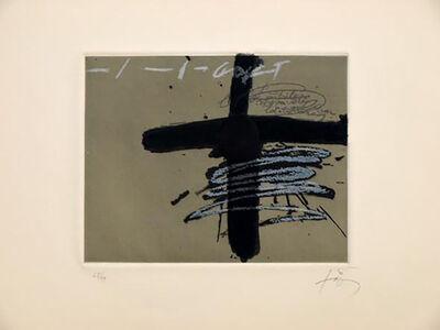 Antoni Tàpies, 'Aparicions 8', 1982