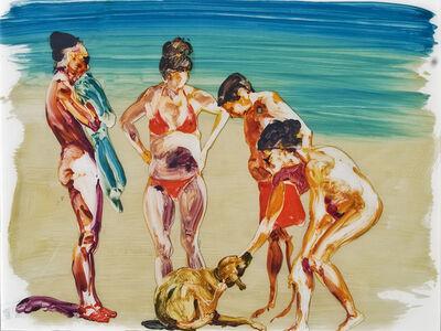 Eric Fischl, 'On the Beach - Blue', 2013