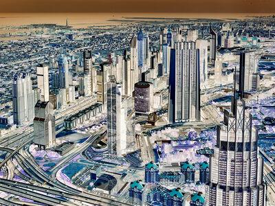 Andrew Prokos, 'Inverted - Dubai Cityscape #2', 2020