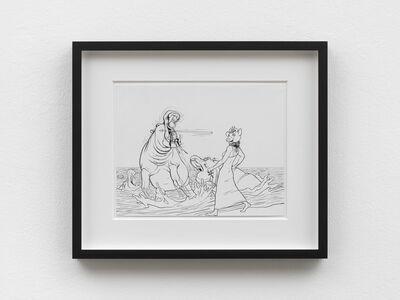 Jim Shaw, 'Elsa the Cow & Hippo', 2017