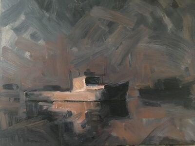 Benjamin Lussier, 'Boats in Fog', 2018